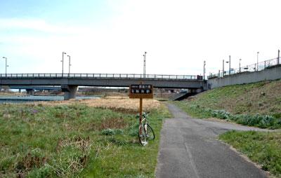 自転車道 高崎 自転車道 : 桃の木川はこの先で広瀬川に ...